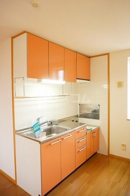 エスポワールA 02030号室のキッチン