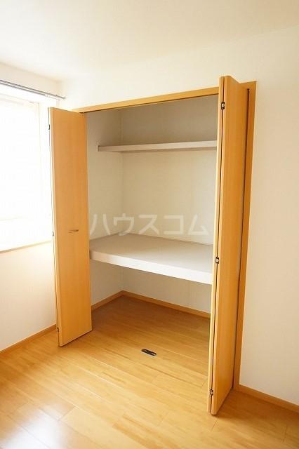 エスポワールA 02030号室の収納