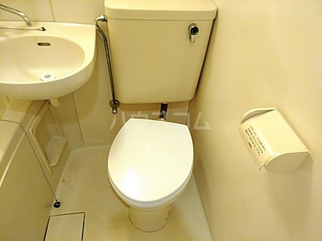 プリシア千里丘 207号室のトイレ