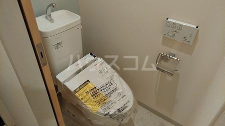 ラフィネ芦花公園B 202号室のトイレ