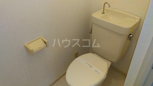 エステートピア・シャルム 201号室のトイレ