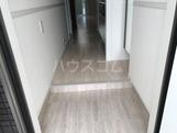 ひたちなか市足崎新築アパート 105号室の玄関