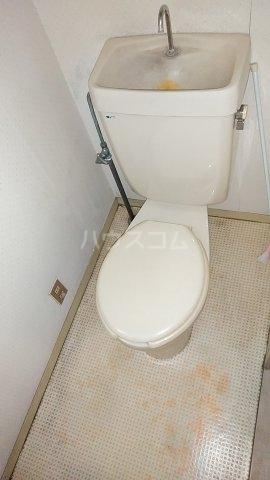 コーポユタカ 102号室のトイレ