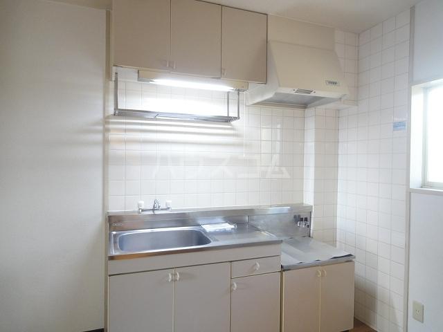 ニュープレイス 01020号室のキッチン