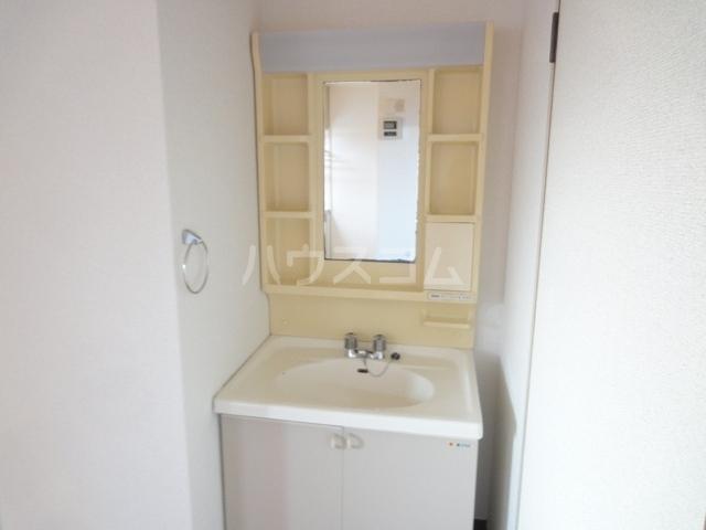 ニュープレイス 01020号室の洗面所