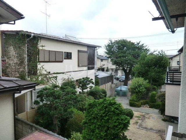 第一高永荘 101号室の庭