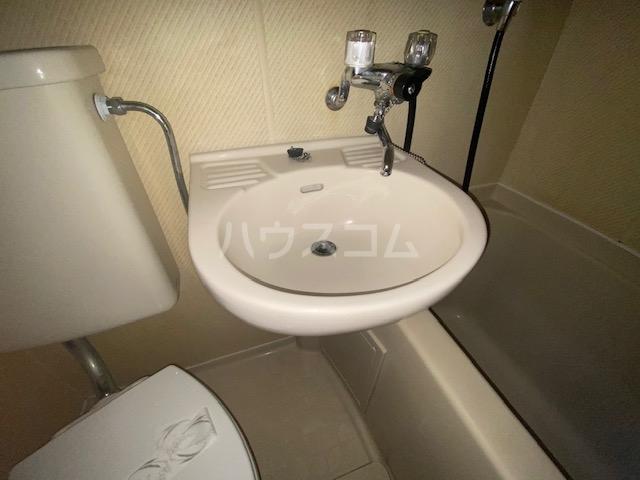 パークビル 501号室の洗面所
