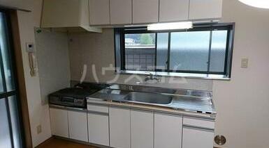 ハイツU A-2号室のキッチン