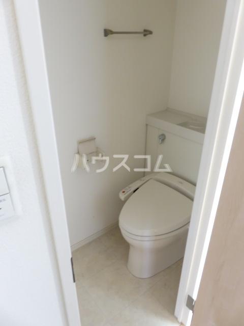 Blue Ocean 101号室のトイレ