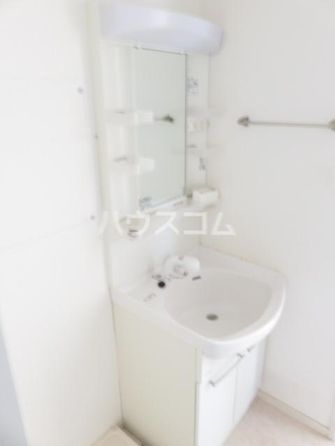 Blue Ocean 101号室の洗面所