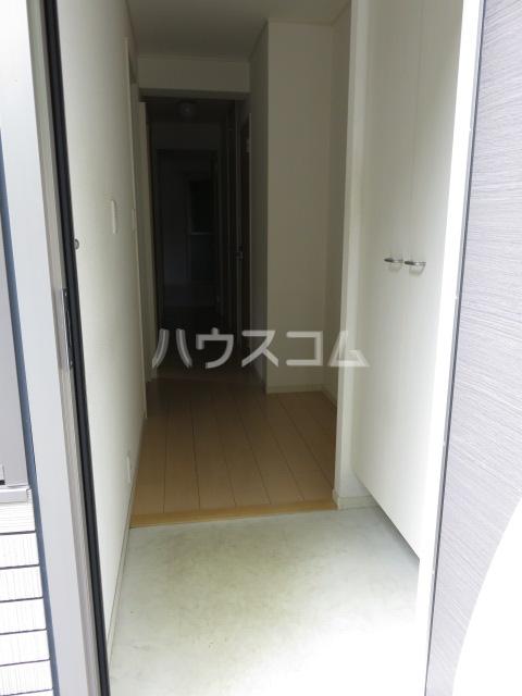 Blue Ocean 101号室の玄関