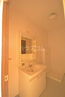 富士見台ハイツ 306号室の洗面所