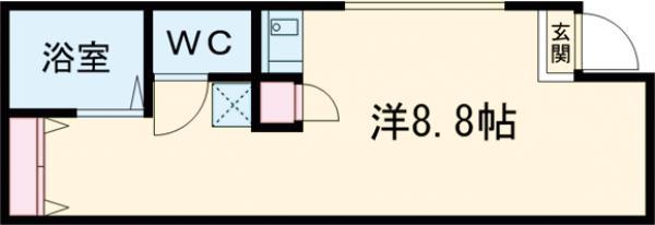 仮)宇都宮市大寛1丁目アパート・101号室の間取り