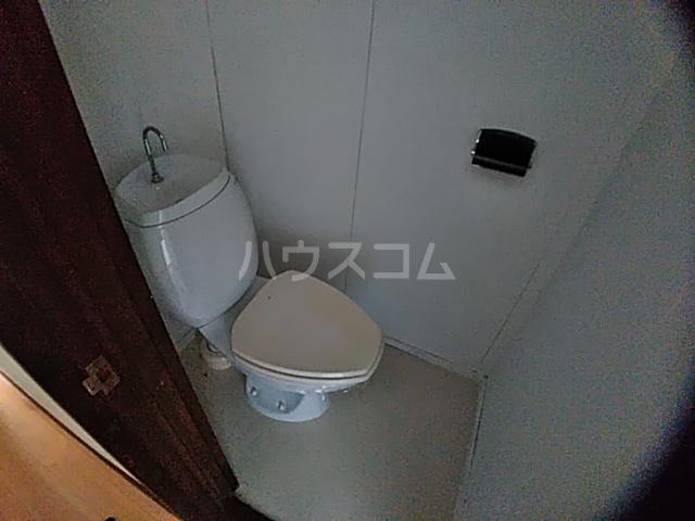 コーポ南 D号室のトイレ
