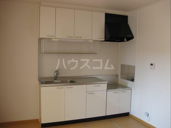 グリーンハウス A 01020号室のキッチン