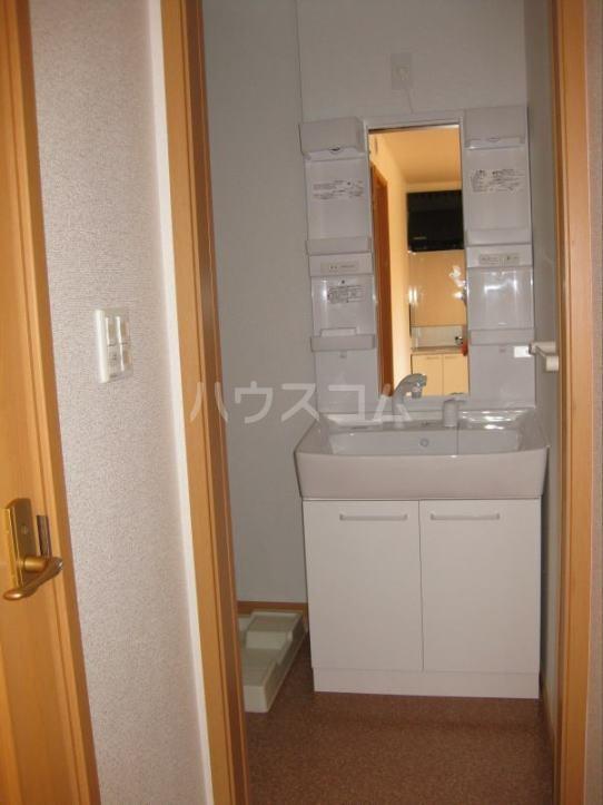 グリーンハウス A 01020号室の洗面所