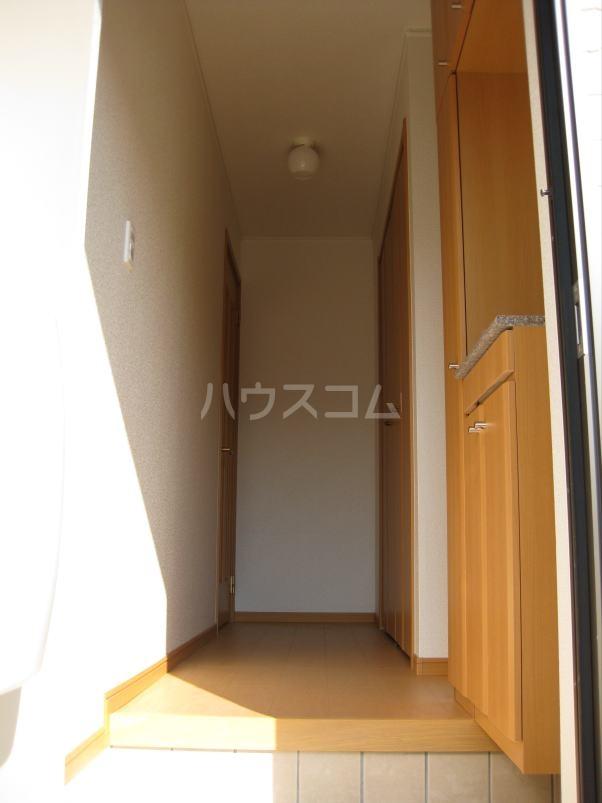 グリーンハウス A 01020号室の玄関