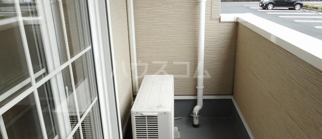 グリーンハウス A 01020号室のバルコニー