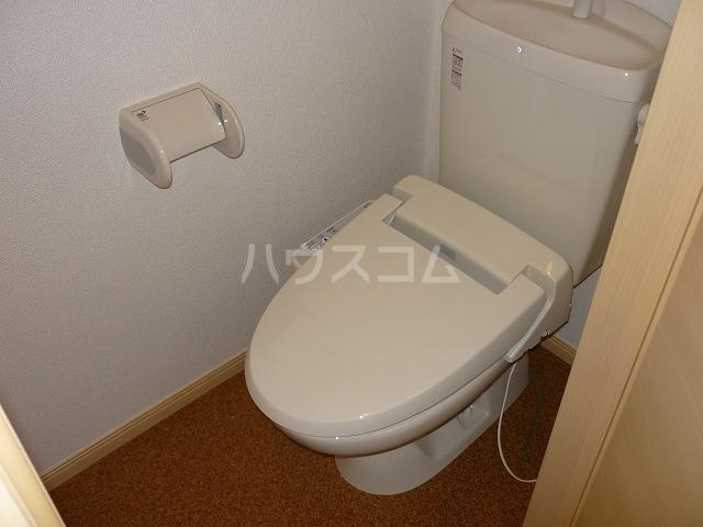 カーサ テポーレB 01010号室のトイレ