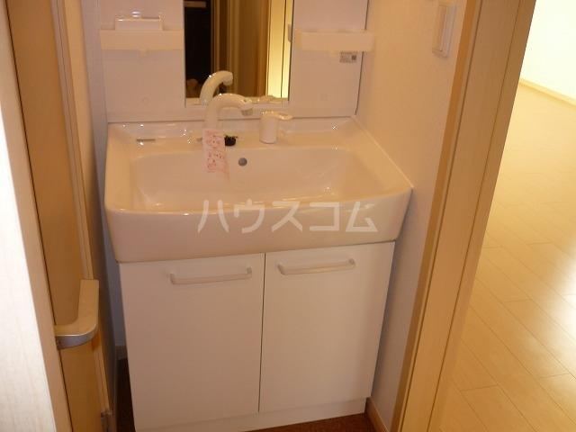 カーサ テポーレB 01010号室の洗面所