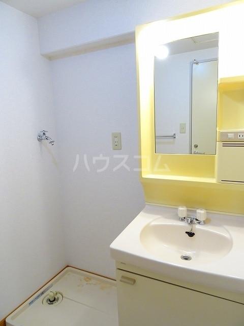 ベルクハウス 01020号室の洗面所