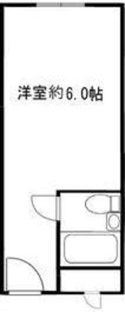 シャトレーイン東京笹塚・620号室の間取り