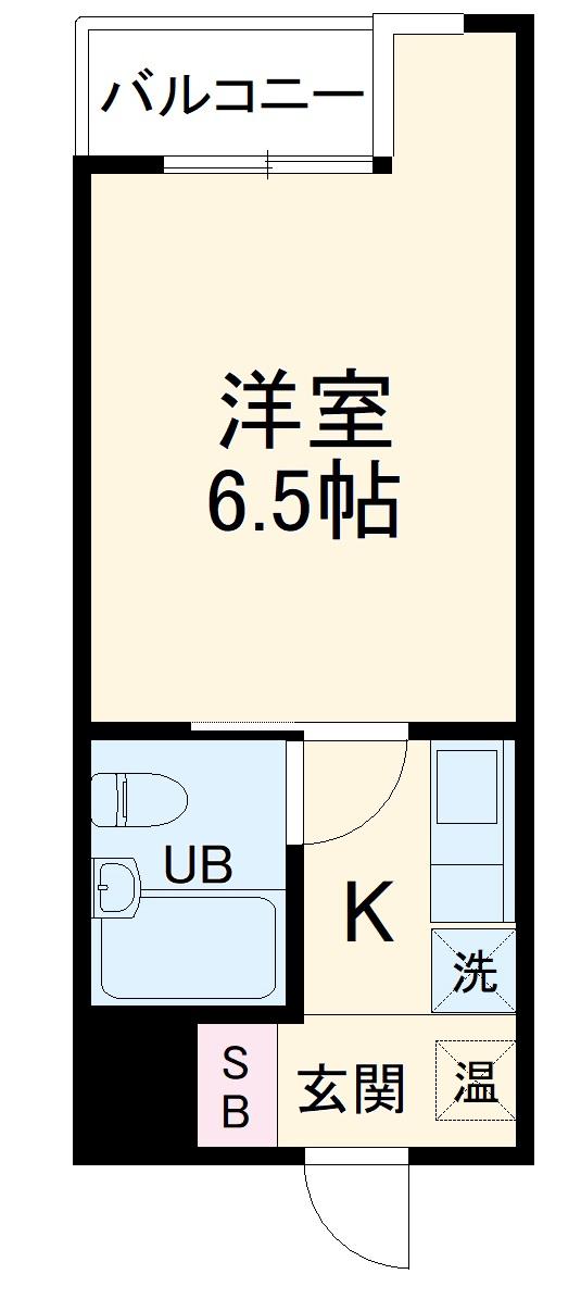 日神パレス戸塚・212号室の間取り