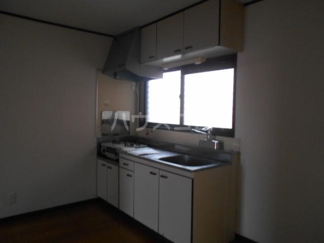 ファミーユ舘 203号室のキッチン