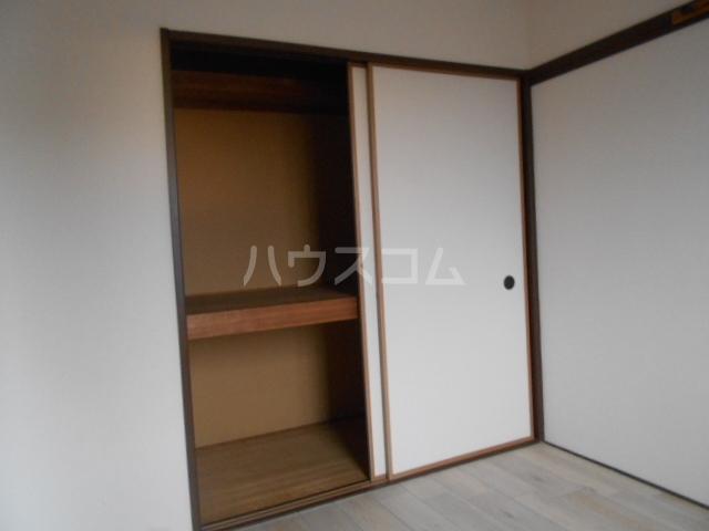 ファミーユ舘 203号室の収納