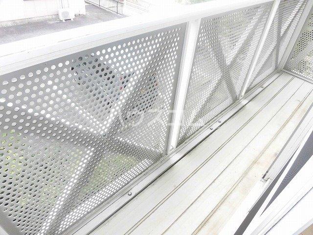 マ・メゾン藤ヶ丘A 202号室のバルコニー