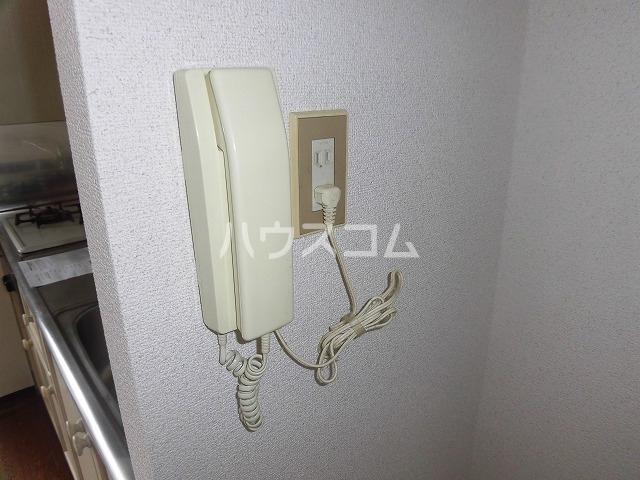 マ・メゾン藤ヶ丘A 202号室のセキュリティ