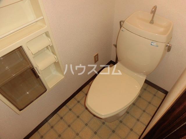 マ・メゾン藤ヶ丘A 202号室のトイレ