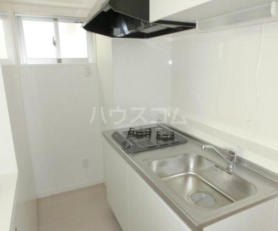 STUDIO+ 301号室のキッチン