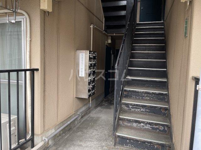 タカラコーポ日吉 202号室のエントランス