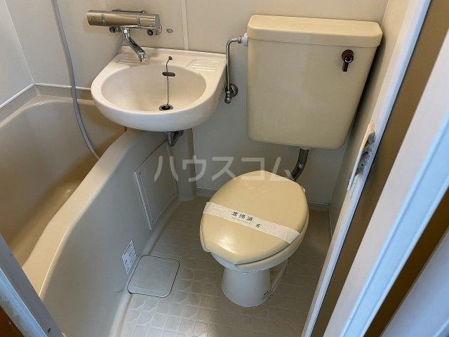 タカラコーポ日吉 202号室のトイレ