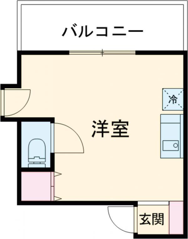 コルディアルマン貫井 302号室の間取り