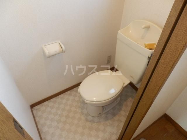 メゾンドールST 306号室のトイレ