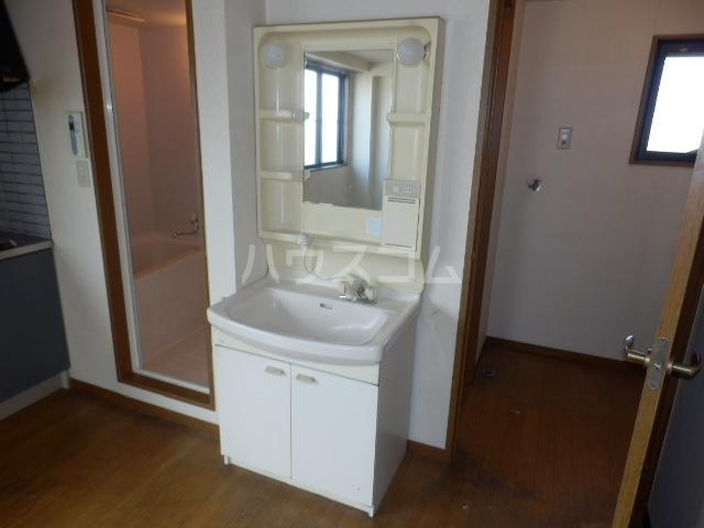 メゾンドールST 306号室の洗面所