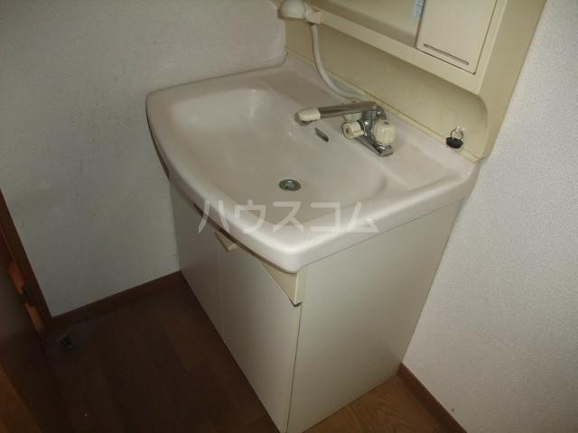メゾンドールST 403号室の洗面所