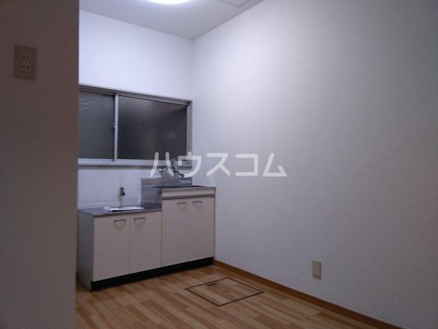望月荘 202号室のキッチン