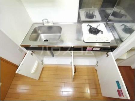 ベルステージⅠ 104号室のキッチン