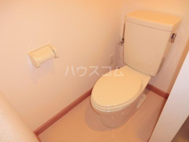 シエルダジュール 102号室のトイレ