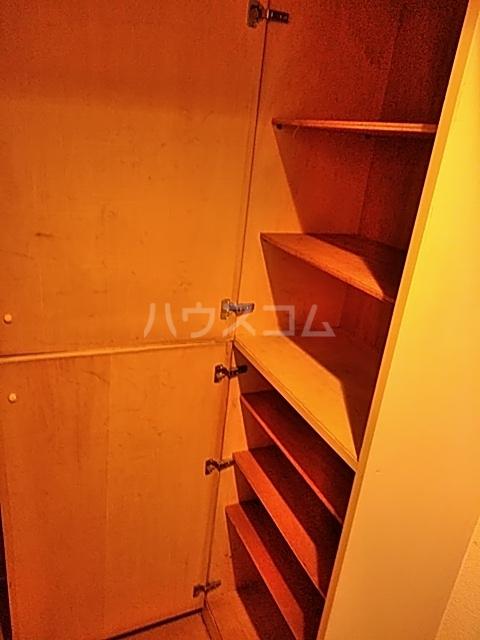 WEST VALLEY 107号室の収納