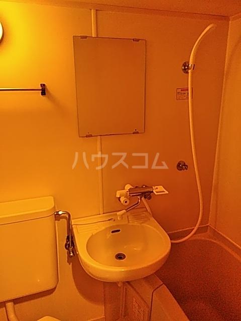 WEST VALLEY 107号室の洗面所