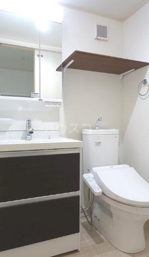 ハーミットクラブハウス菊名ⅣA棟 105号室の洗面所