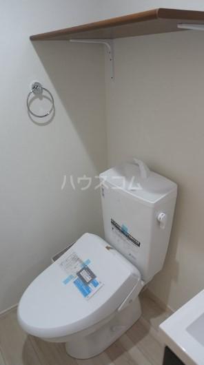 ハーミットクラブハウス菊名ⅣA棟 105号室のトイレ