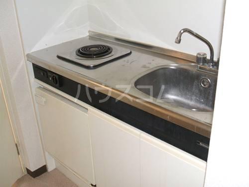 メモワール上桂 202号室のキッチン