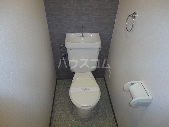 メモワール上桂 202号室のトイレ