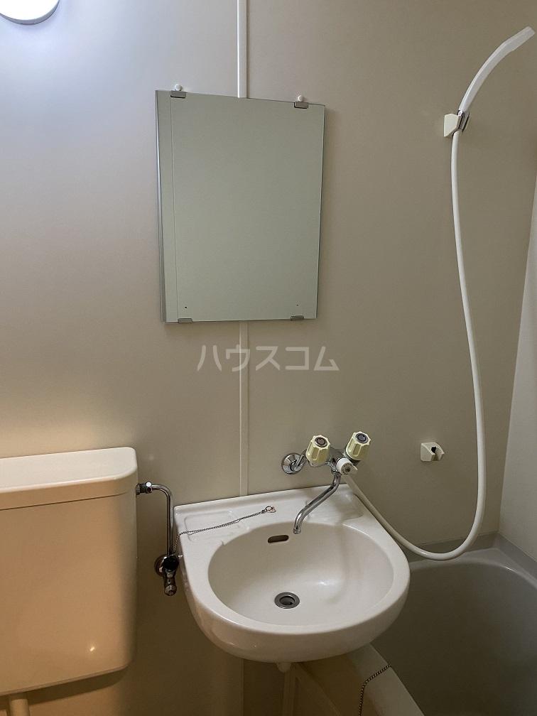 ハイネス青戸 2-B号室の洗面所