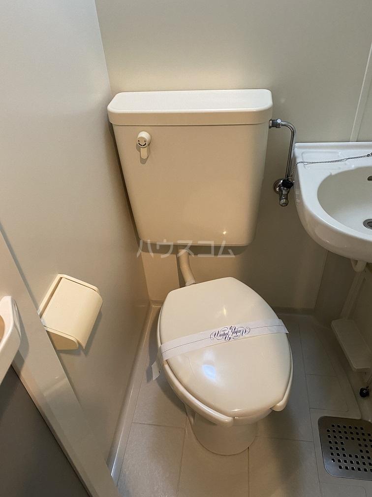 ハイネス青戸 2-B号室のトイレ